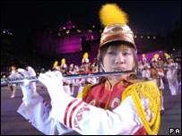 Taipei First Girls' Senior High School Honour Guard and Drum Corps