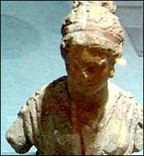 Bust from Failaka (pic: Greek Ministry of Culture)