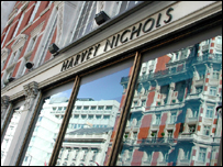 Harvey Nichols in Knightsbridge