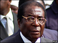 Zimbabwe's President Robert Mugabe - 18/07/2007