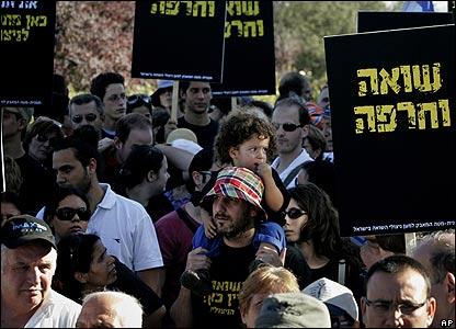 Jerusalem Holocaust protest