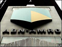 ABN Amro sign