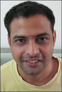 Shiraz Khan (Pic: Geeta Pandey)
