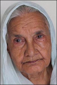 Grandma Farooqi Begum (Pic: Geeta Pandey)