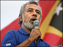 Xanana Gusmao (file photo)