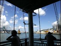 View from Queen's Pier, Hong Kong