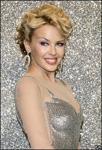 EMI artist Kylie Minogue