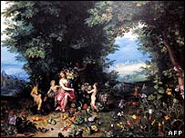 Allegory of Earth by Flemish artist Jan Brueghel