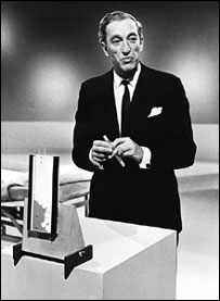 Tomorrow's World presenter Raymond Baxter