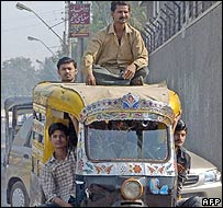 Auto-rickshaw in Pakistan
