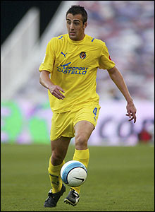 Jose Enrique in action for Villarreal