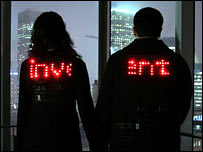 Messaging jackets