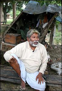 Ramananda Mandal (Pic: Mark Dummett)