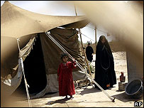 Internally displaced Iraqi refugees