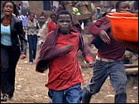 Ignatius Juma in Kibera Kid (Copyright Hot Sun Films)
