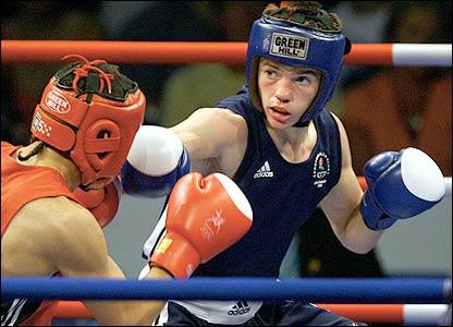 British boxer Frankie Gavin