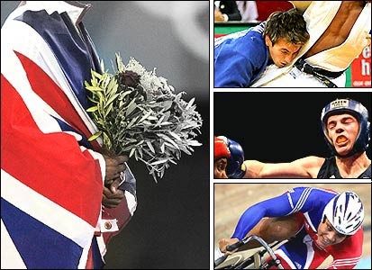 Some of the British medal contenders for Beijing