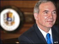 Roy Chaderton, ex canciller y ex embajador de Venezuela en Francia