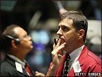 Corredores de Bolsa ren EE.UU.