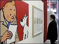 Exposición de dibujos originales de Herge