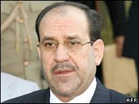 Iraqi Prime Minister Nouri Maliki. File photo
