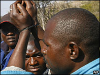 Illegal Zimbabwean migrants being held by South African farmers