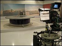 BBC television studio