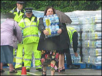 Water distribution in Painswick, pic by from Maggie de Havilland-Hall