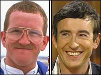 Eddie 'The Eagle' Edwards and Steve Coogan