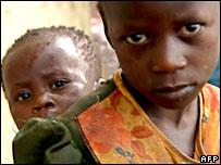 Ugandan refugees in northern Uganda