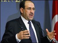 Iraqi Prime Minister, Nouri Maliki