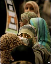 Muslim women in India