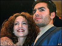 Jennifer Lopez and Ojani Noa in 1997