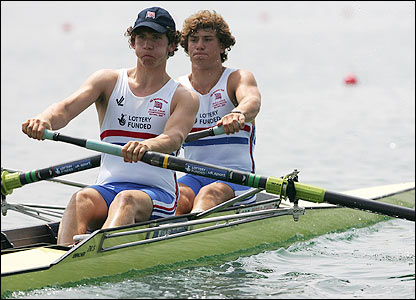 British duo Matthew Anker (left) and Matthew Tarrant