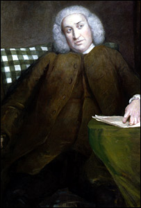 The painting of Samuel Johnson by Sir Joshua Reynolds