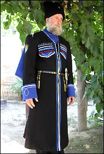 "Local leader ""Ataman"" Viktor Vasilyevich"
