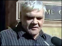 Bruce Trevorrow outside court