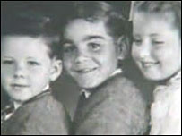 A young Bruce Trevorrow with other, white, children