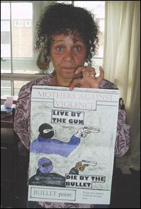 Pat Regan at her home in Leeds
