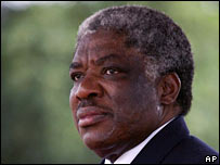 President Levy Mwanawasa in 2006