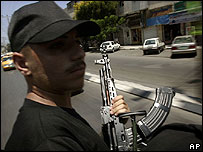 Member of Hamas's Executive Force. File photo
