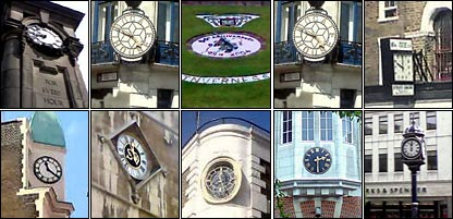 Defunct clocks from around the UK