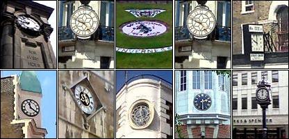 Defunct clocks from around the UK