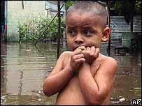 Niño indígena en Nicaragua