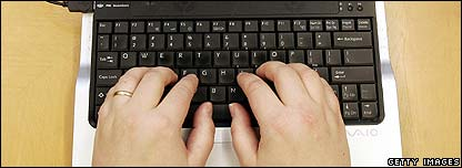 Blogging hands
