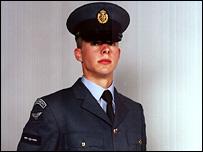 Leading Aircraftman Martin Beard (Pic: MoD)
