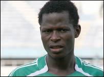Nigeria Under-20 player Olufemi Oladapo