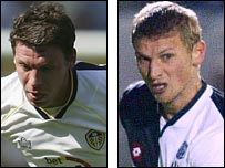 Alan Thompson and Tore Andre Flo