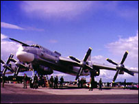 Tu-95 Tupolev long-range bomber aircraft (file picture)