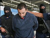 Jesus Martinez, policía mexicano acusado de colaborar con mafias.